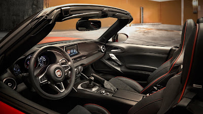 2017 fiat 124 spider interior hd wallpaper