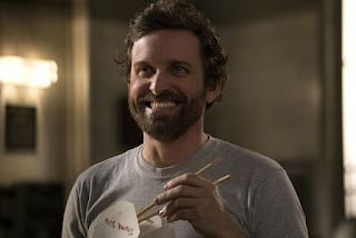 "Rob Benedict as Chuck Shurley in Supernatural 11x21 ""All in the Family"""
