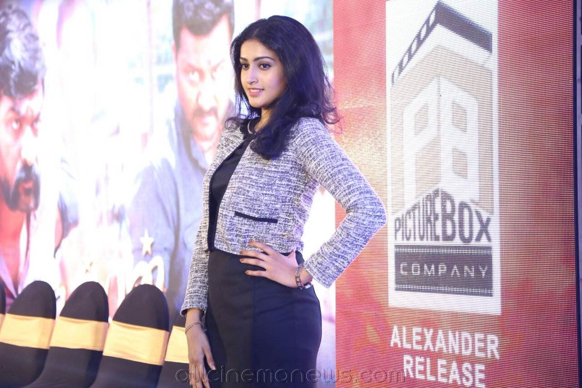 Tanya Ravichandran at Karuppan Press Meet