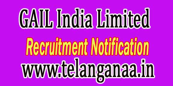 GAIL (GAIL India Limited) Recruitment Notification 2016