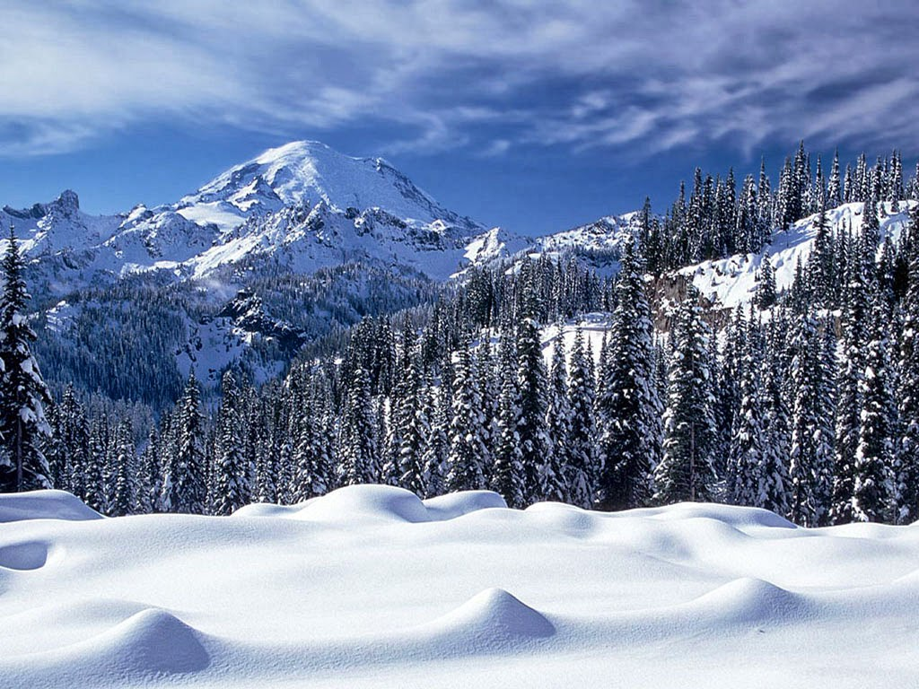 Hd Wallpapers Hd Backgrounds: HD Wallpapers Desktop: Snowy Mountains HD Wallpapers