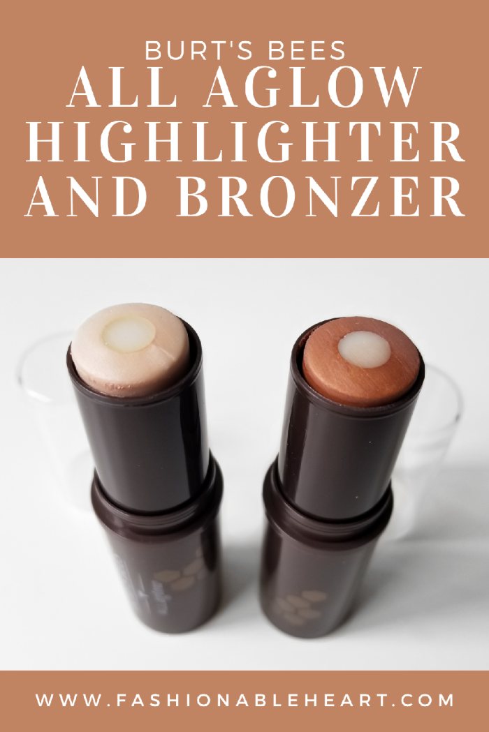 bbloggers, bbloggerca, canadian beauty blogger, beauty blog, burt's bees, all aglow, highlighter, bronzer, opal mist, bronze splash, review, swatch, fair skin, dry skin