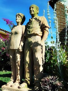 Pais do escultor Rogério Bertoldo - Jardim das Esculturas, Júlio de Castilhos (RS)