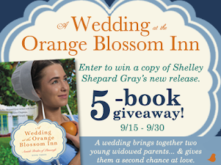 A Wedding at the Orange Blossom Inn by Shelley Shepard Gray Book Giveaway