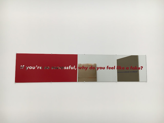 The Broad, art museum, downtown Los Angeles, art, If You're So Successful Why Do You Feel Like A Fake, Barbara Kruger