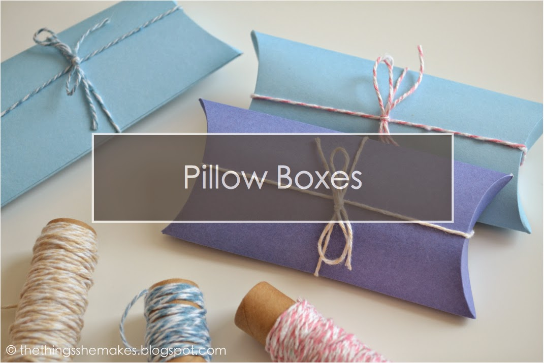 how to make pillow gift boxes the things she makes