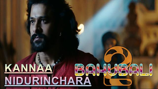 Kannaa Nidurinchara Telgu Song Lyrics – Sreenidhi & V. Sri Soumya | Baahubali 2