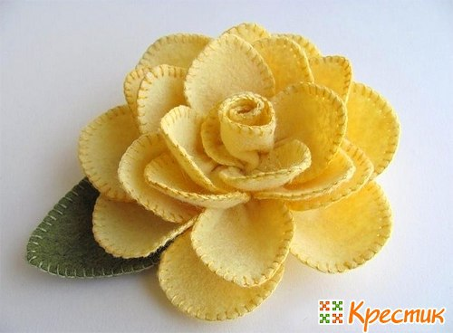 Цветы из ткани своими руками схемы шаблоны фото 225