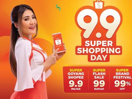 Shopee 9.9 Super Shopping Day Tayang Hari Ini di ANTV