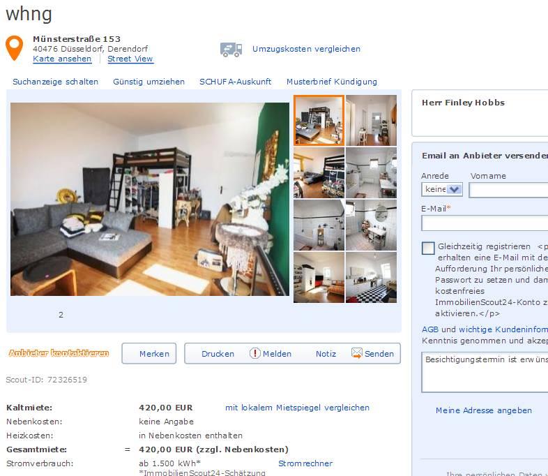 Wohnungsbetrug Blogspot Com Finley Hobbs Hotmail De Alias