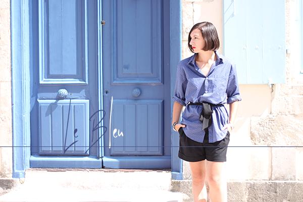 chemise bleu maison françois