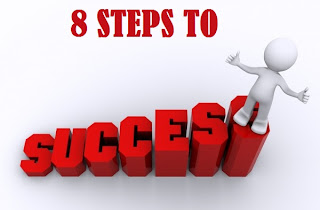 8 steps to success