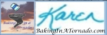 Baking In A Tornado signature | www.BakingInATornado | #MyGraphics