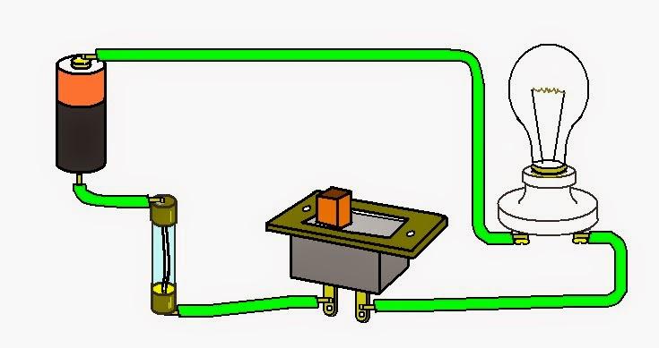 Circuito Basico : Coparoman circuito eléctrico