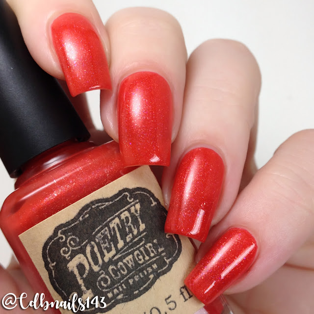 Poetry Cowgirl Nail Polish-Rocket's Red Glare