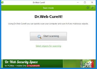 dr. web antivirus free