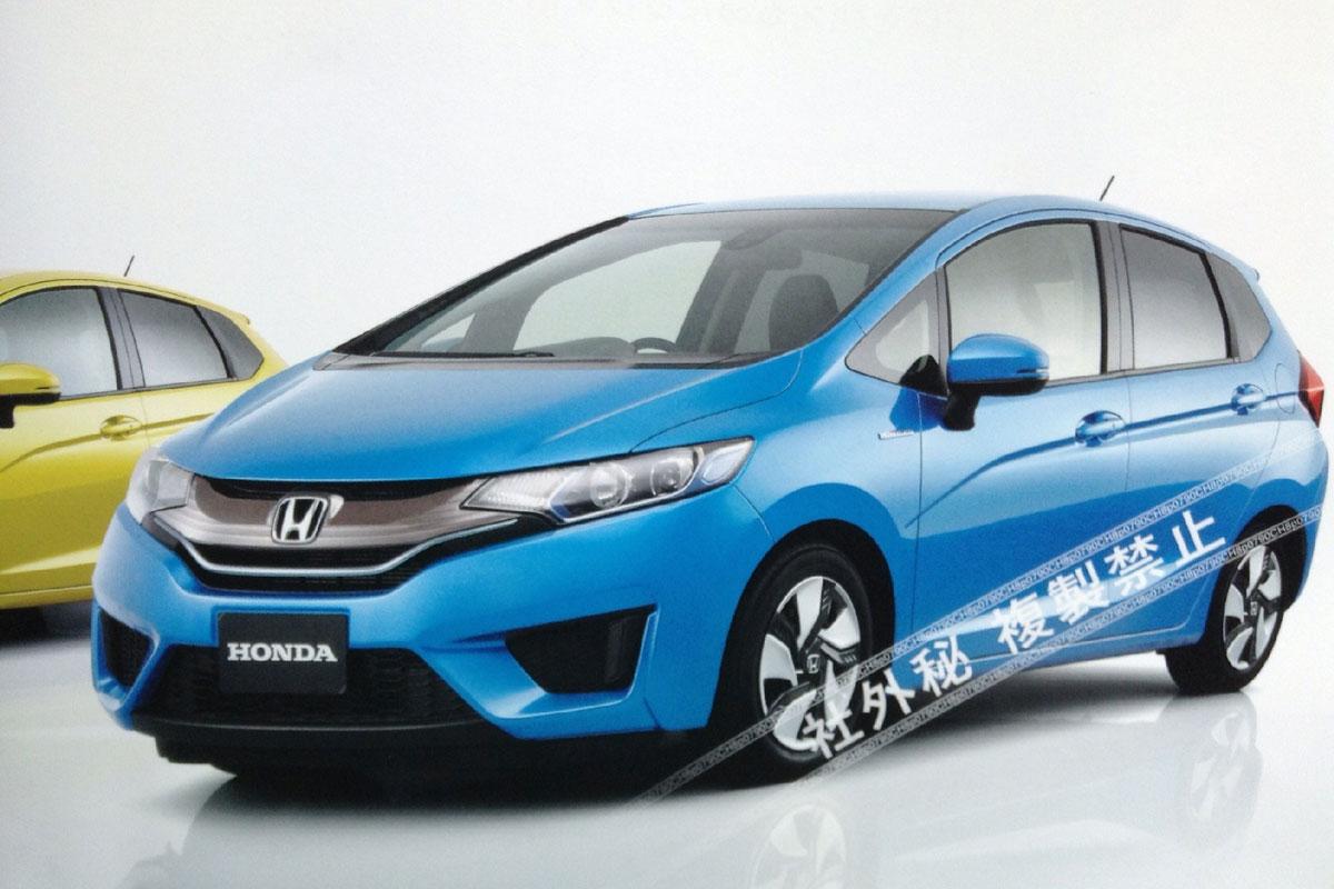 Honda Civic Pilot >> 2014 Honda Jazz Interior Images Disclosed | New Honda Model