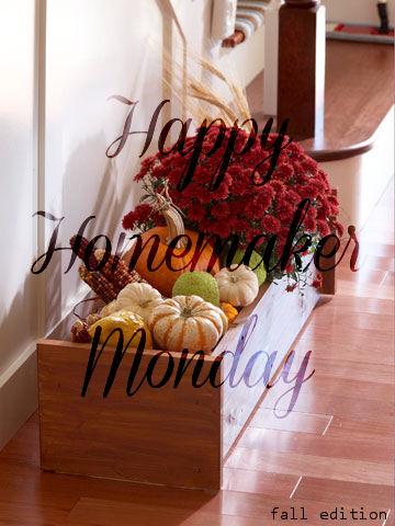 { Happy Homemaker Monday - 10/30/2017 }