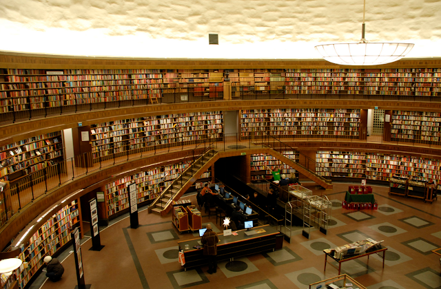 Perpustakaan Umum Stockholm Alternatif Tujuan Wisata