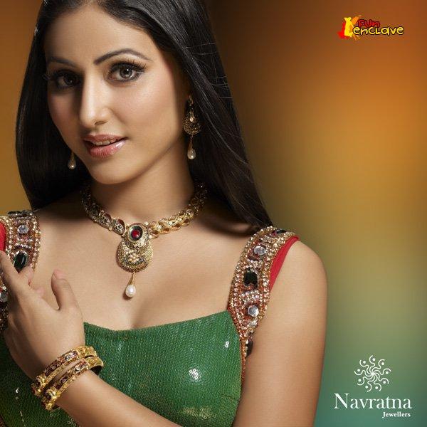 Hot Naked Girls Star Plus Actress Hina Khan-Akshara -2835