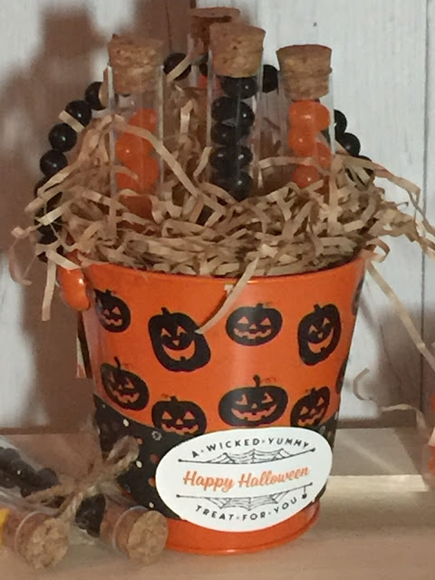 Fill these new Treat Tubes with candy for fast Halloween treats