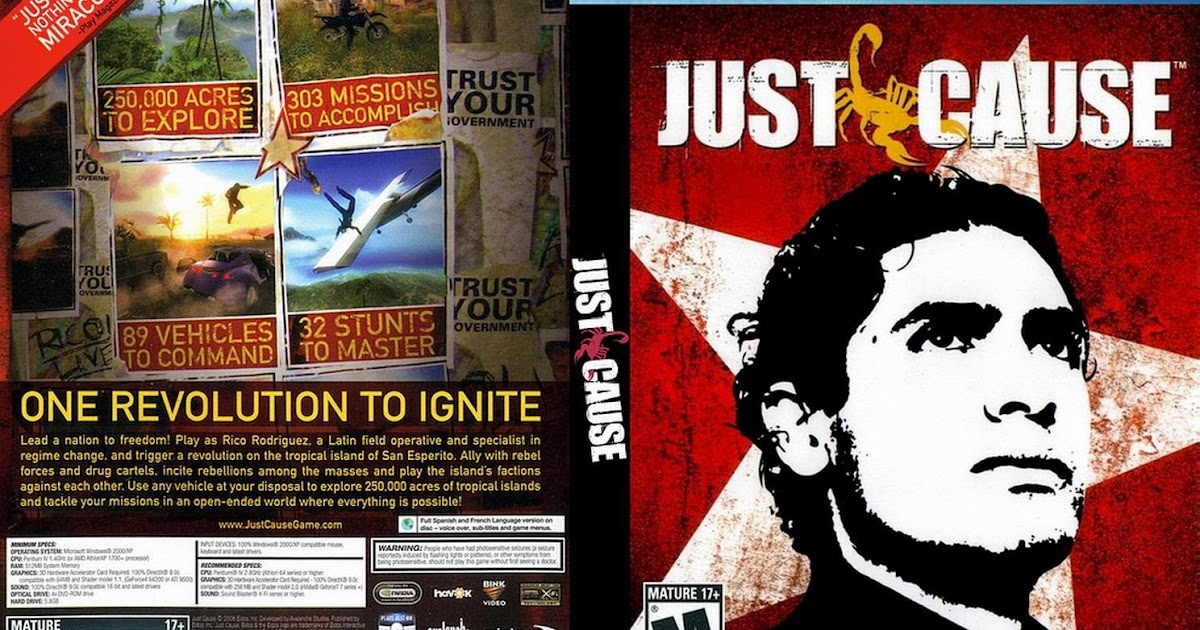 Download Kumpulan Game Just Cause Terlengkap Full Version - RonanElektron