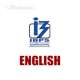 IBPS PO Quiz  For  English Language | 13 - 10 - 17