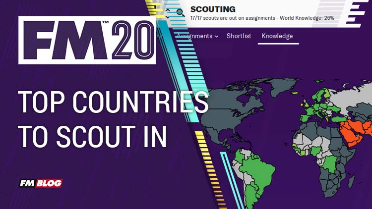 The Top Countries to Scout in for Football Manager 2020
