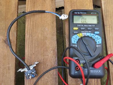 Aprilia RS125 Pick up coil testing