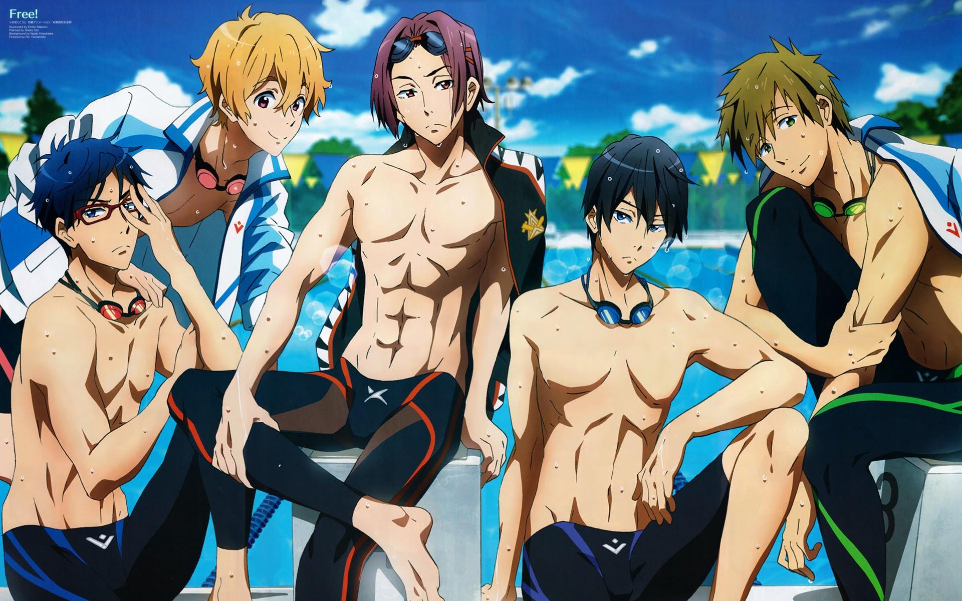 Free Anime Iwatobi Swim Club A95 Hd Wallpaper