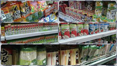 Produtos japoneses nos mercados