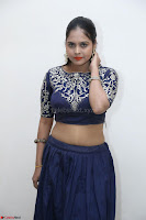 Ruchi Pandey in Blue Embrodiery Choli ghagra at Idem Deyyam music launch ~ Celebrities Exclusive Galleries 005.JPG