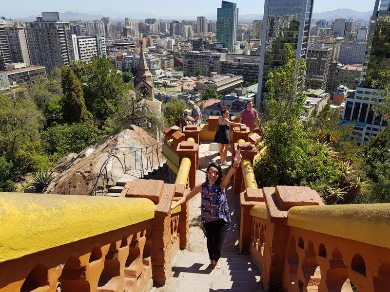 Pontos Turísticos de Santiago: Cerro Santa Lucia