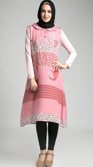 Modisnya Ibu Hamil Dengan Model Baju Lebaran Gamis Terbaru