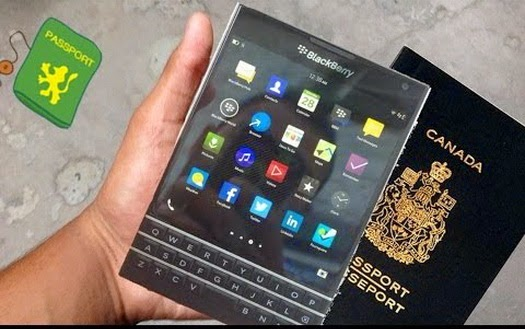 Reverse phone directory net BlackBerry Passport ready to take you