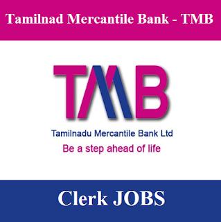Tamilnad Mercantile Bank, TMB, Clerk, Graduation, Bank, Tamil Nadu, freejobalert, Sarkari Naukri, Latest Jobs, tmb logo