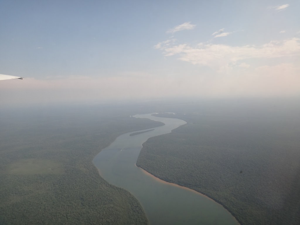 Rio Iguaçu em Foz