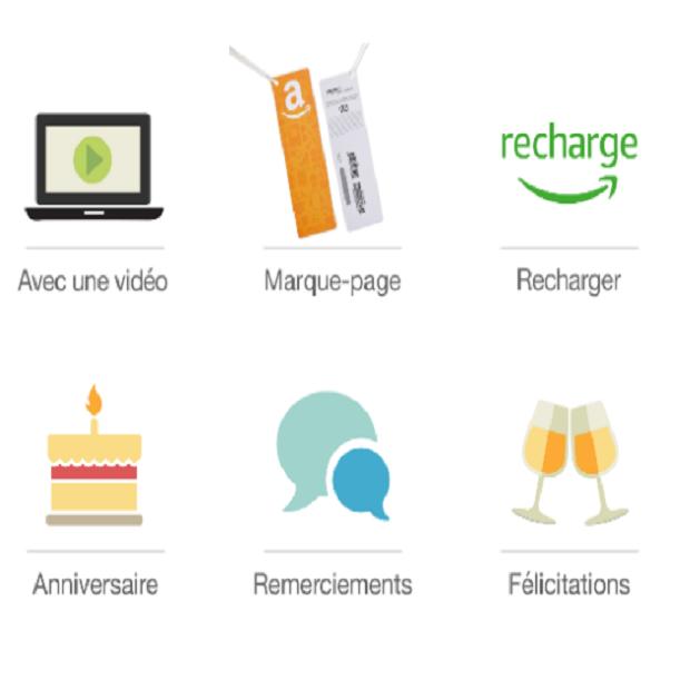 CHÈQUES-CADEAUX & RECHARGE : Amazon.fr - Nos chèques-cadeaux sont valables sur des millions d'articles sur Amazon.fr. Faites plaisir à vos proches en leur laissant le choix !