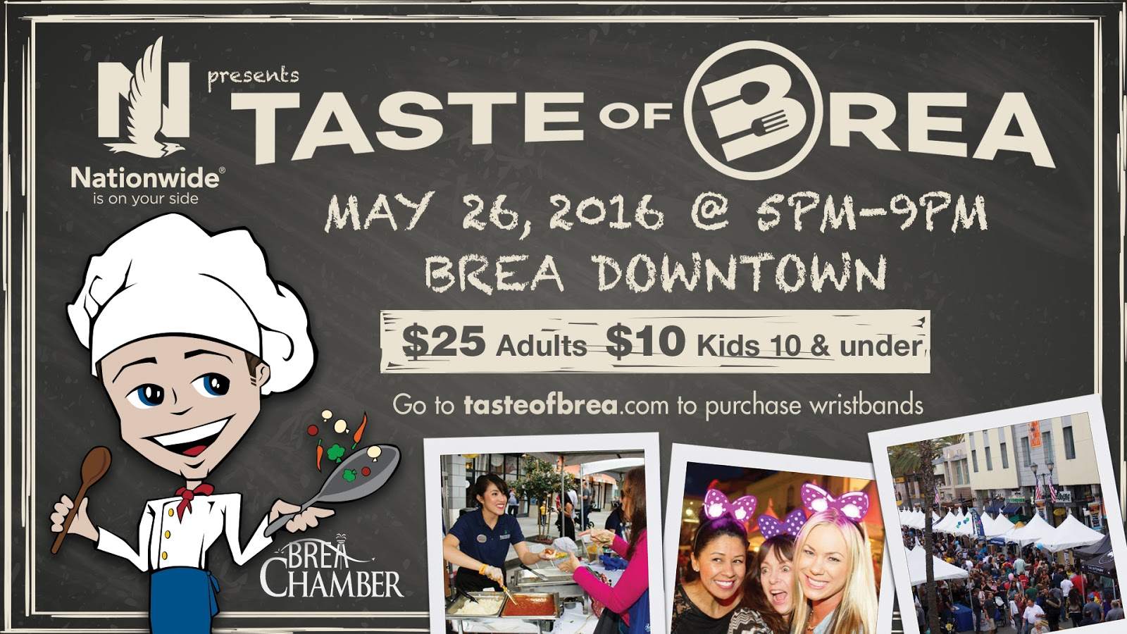 I AM SO EXCITED FOR TASTE OF BREA TONIGHT! (MAY 26)