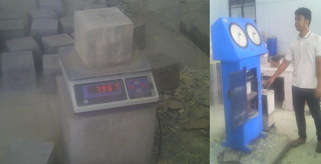 Berikut yaitu beberapa tes penting yang dilakukan pada beton Kuat Tekan Beton