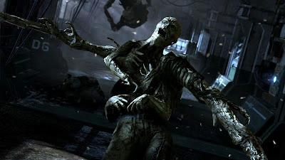 Zombie atacando con varios brazos