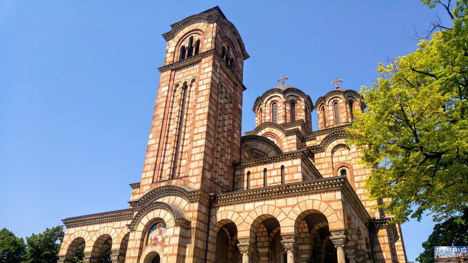 Serbie Belgrade église Saint-Marc de Belgrade