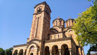 Serbie Belgrade église Saint-Marc de Belgrade