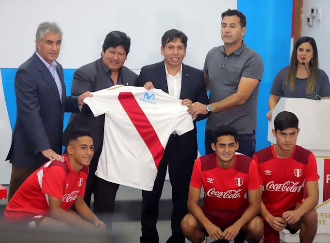 Movistar es el nuevo Patrocinador Oro de la Selección Peruana de Fútbol.