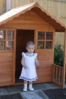 Argos wooden playhouse