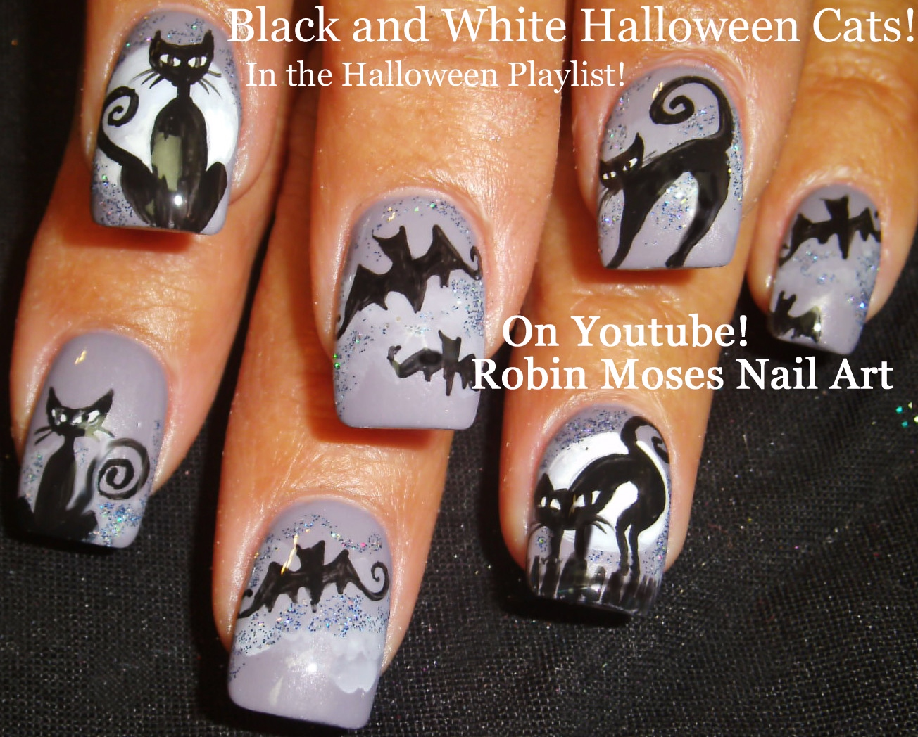 Robin Moses Nail Art: American Horror Story Coven Nails ...
