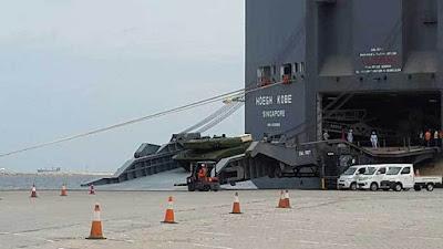 Gelombang Kedua MBT Leopard 2 Ri Telah Tiba Di Indonesia