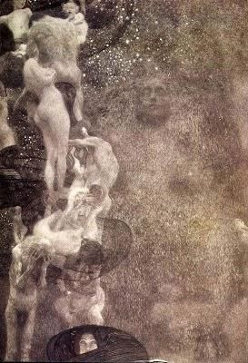 Filosofia - Gustav Klimt e suas pinturas ~ Pintor simbolista austríaco
