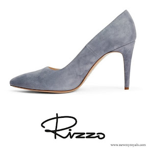 Crown Princess Victoria wore  Rizzo Azelia suede pumps