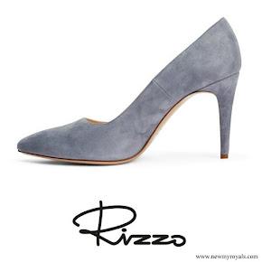 Crown Princess Victoria wore  Rizzo Azelia suede pumps